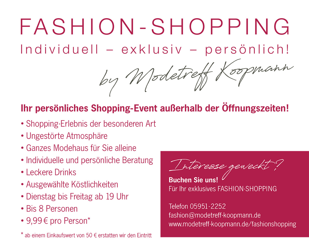 Fashion-Shopping by Koopmann